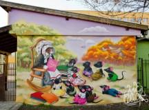Графити-артисти изрисуваха дом за деца в Бургас