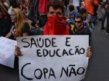 Протести и в Бразилия