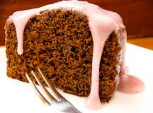 Лесен и ефектен кейк с лавандулова глазура