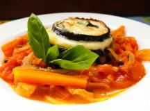 Италианска рецепта за патладжан с моцарела