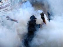 Турската полиция остана без сълзотворен газ