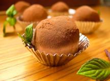 Домашно лакомство – шоколадови трюфели с мента