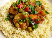 Ориенталска кухня с марокански кус-кус със зеленчуци